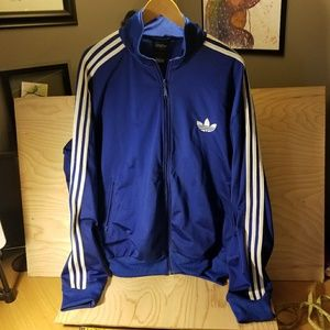 Adidas Trefoil Warm Up Jacket 2xl DOPE! lol